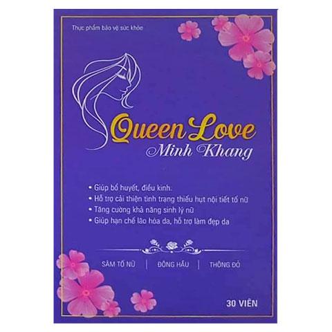 Mặt hộp Queen Love Minh Khang