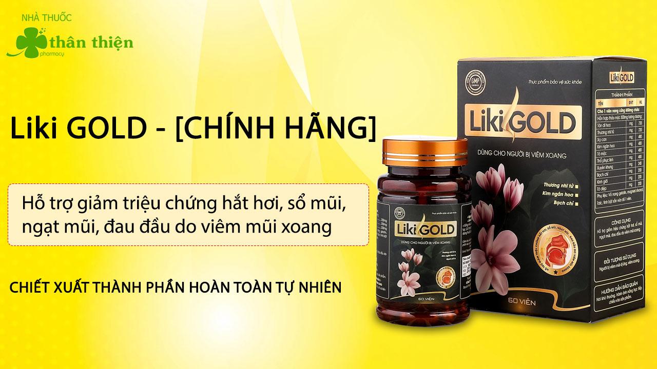 LikiGold có bán chính hãng tại Nhà Thuốc Thân Thiện cả online và offline