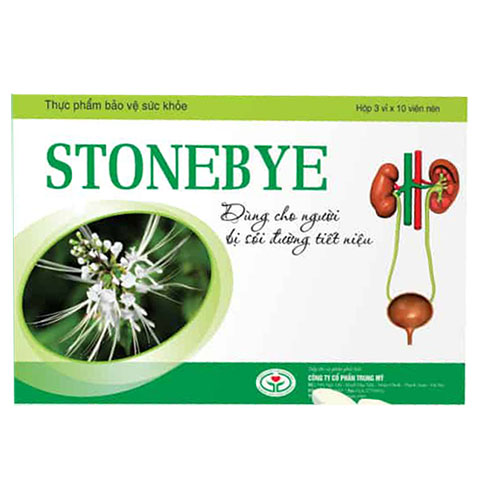 Stonebye - Hỗ trợ giảm nguy cơ sỏi tiết niệu,
