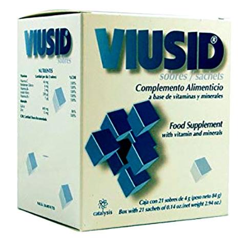 Viusid - Hỗ trợ giảm gốc tự do