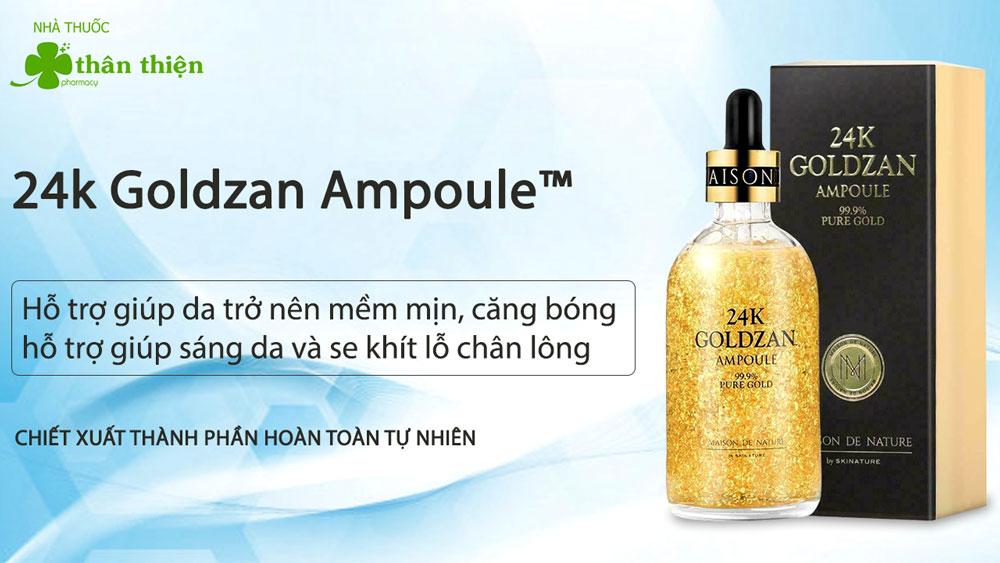24k Goldzan Ampoule có bán chính hãng tại Nhà Thuốc