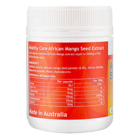 Công dụng African Mango Seed Extract