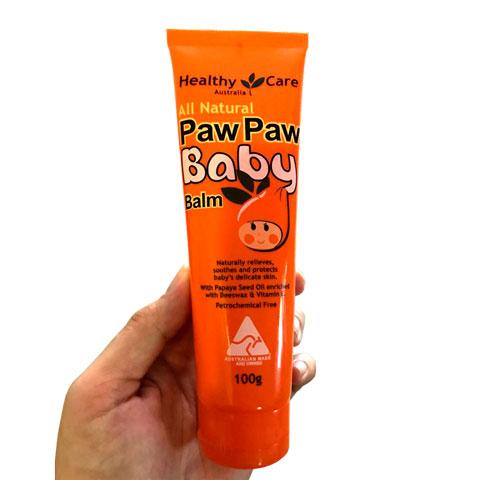 Trên tay tuýp All Natural Paw Paw Baby Balm