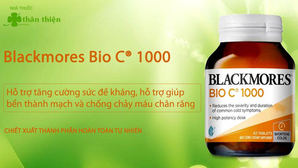 Blackmores Bio C® 1000 có bán chính hãng tại các nhà thuốc