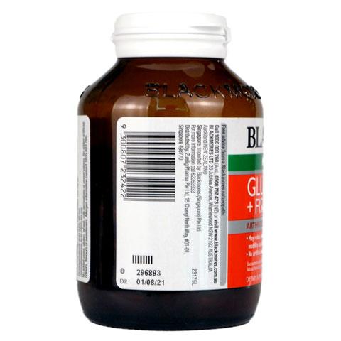Mã vạch Blackmores Glucosamine + Fish Oil