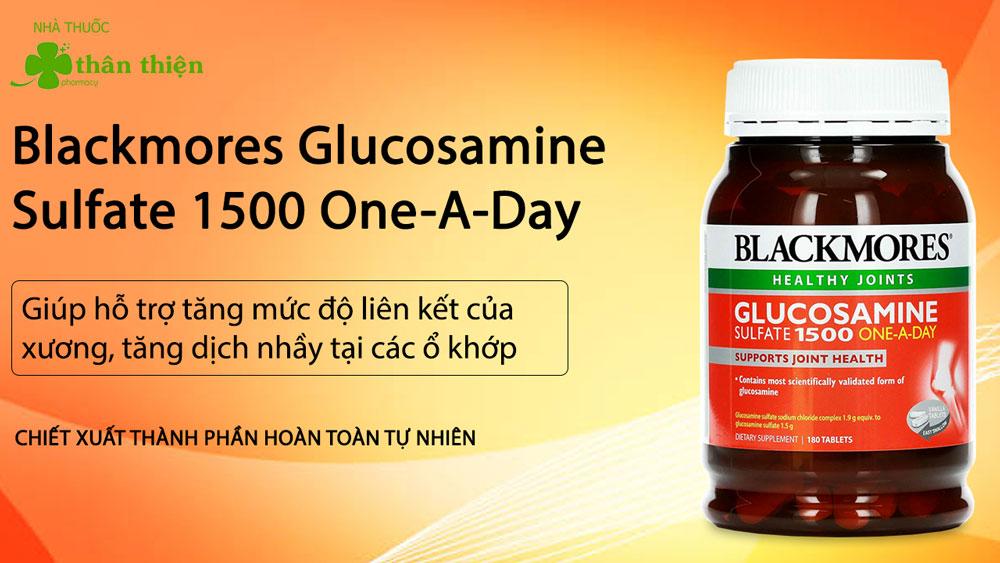 Blackmores Glucosamine Sulfate 1500 One-a-day có bán chính hãng tại Nhà Thuốc