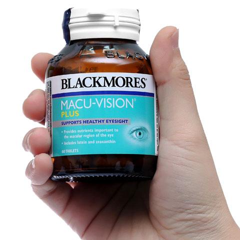 Trên tay lọ Blackmores Macu-Vision Plus