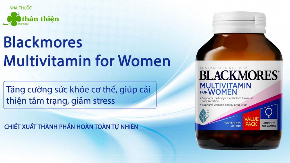 Blackmores Multivitamin for Women có bán chính hãng tại Nhà Thuốc