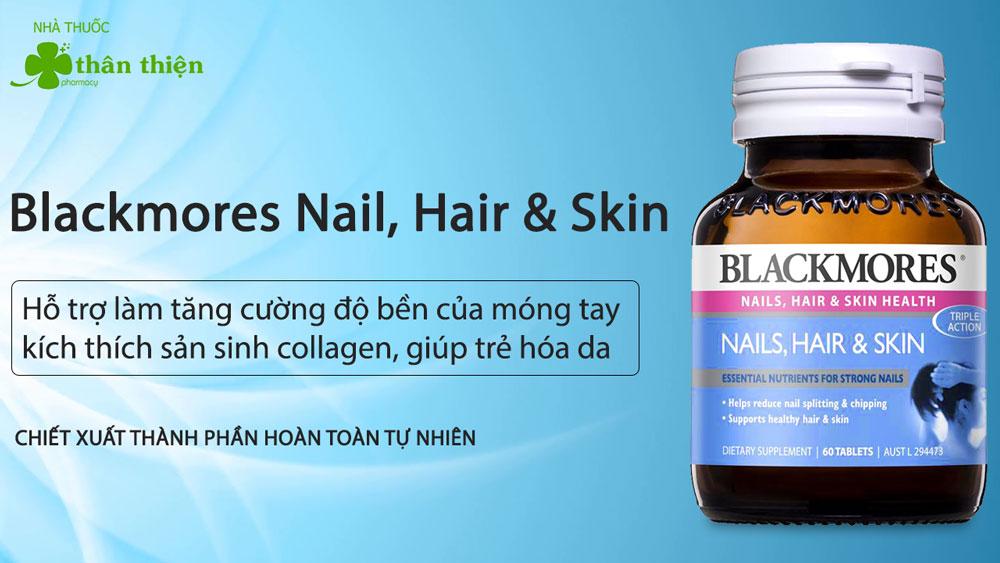 Blackmores Nail, Hair & Skin có thể có bán tại các nhà thuốc