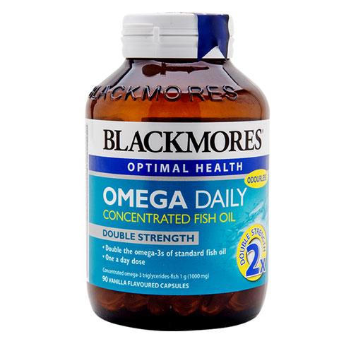 Mặt trước lọ Blackmores Omega Daily
