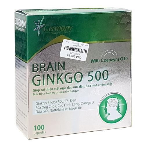 Hộp Brain Ginkgo 500