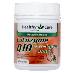 CoEnzyme Q10 +α Lipoic Acid