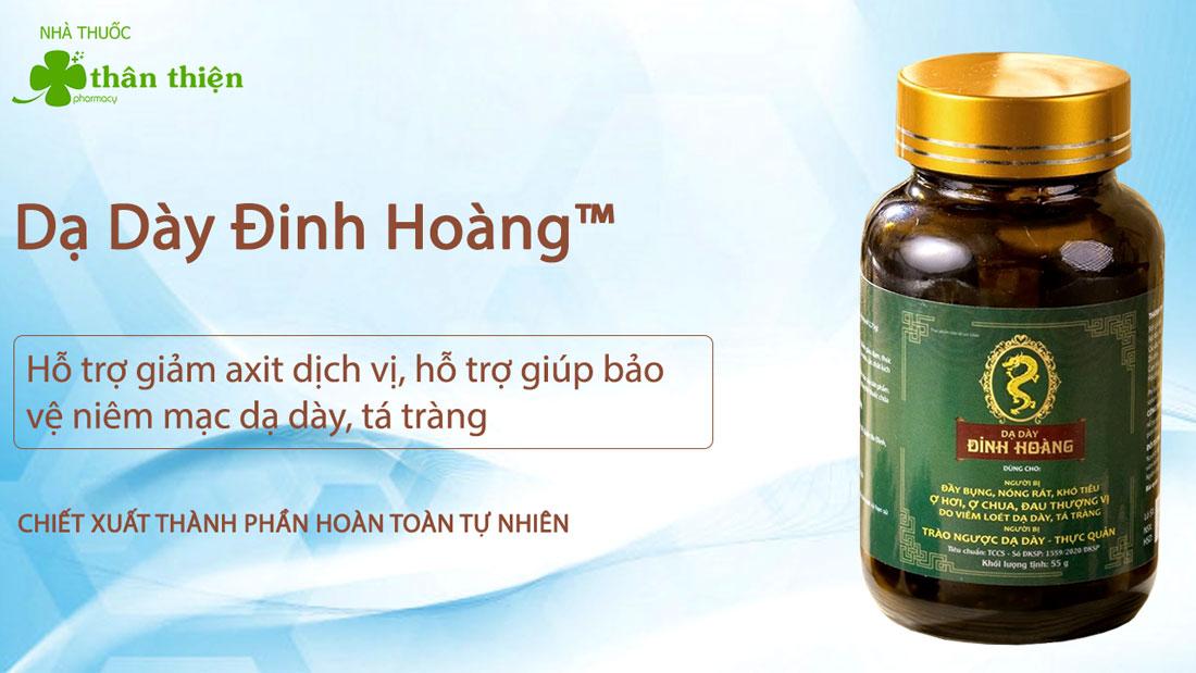 Sản phẩm Dạ Dày Đinh Hoàng có bán chính hãng tại Nhà Thuốc