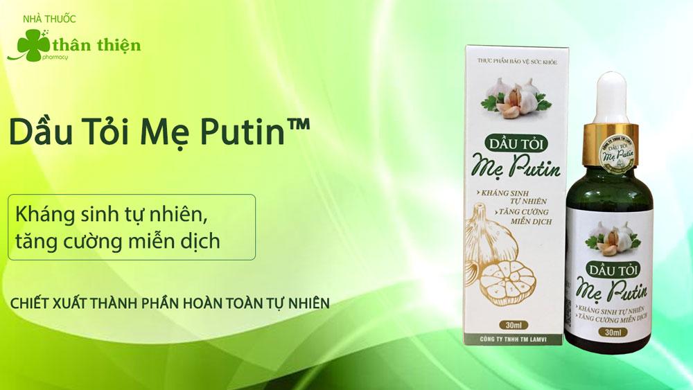 Dầu Tỏi Mẹ Putin