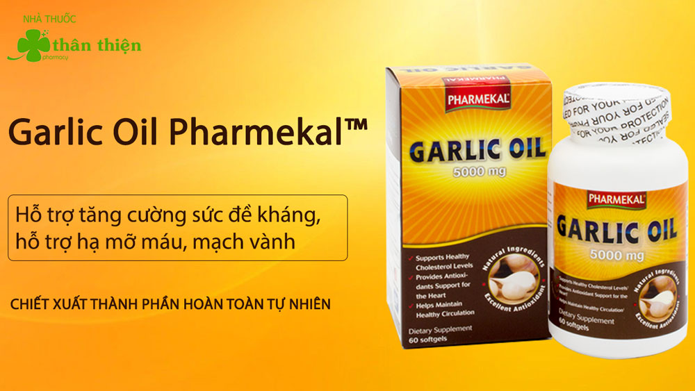 Dầu Tỏi Mỹ Garlic Oil