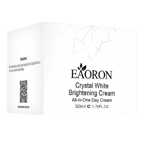 Vỏ hộp Eaoron Crystal White Brightening Cream