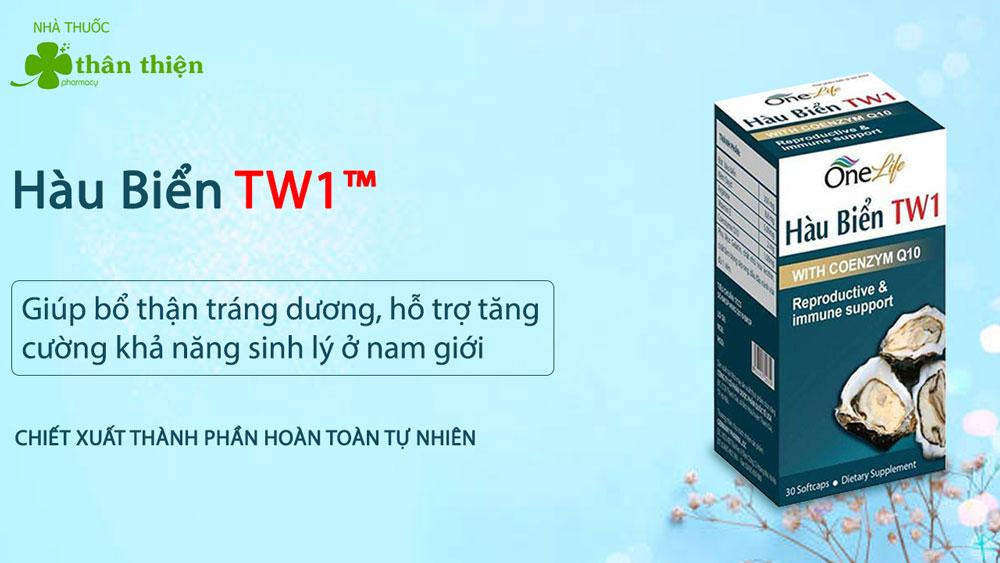 Hàu Biển TW1 bán chính hãng tại Nhà Thuốc Thân Thiện
