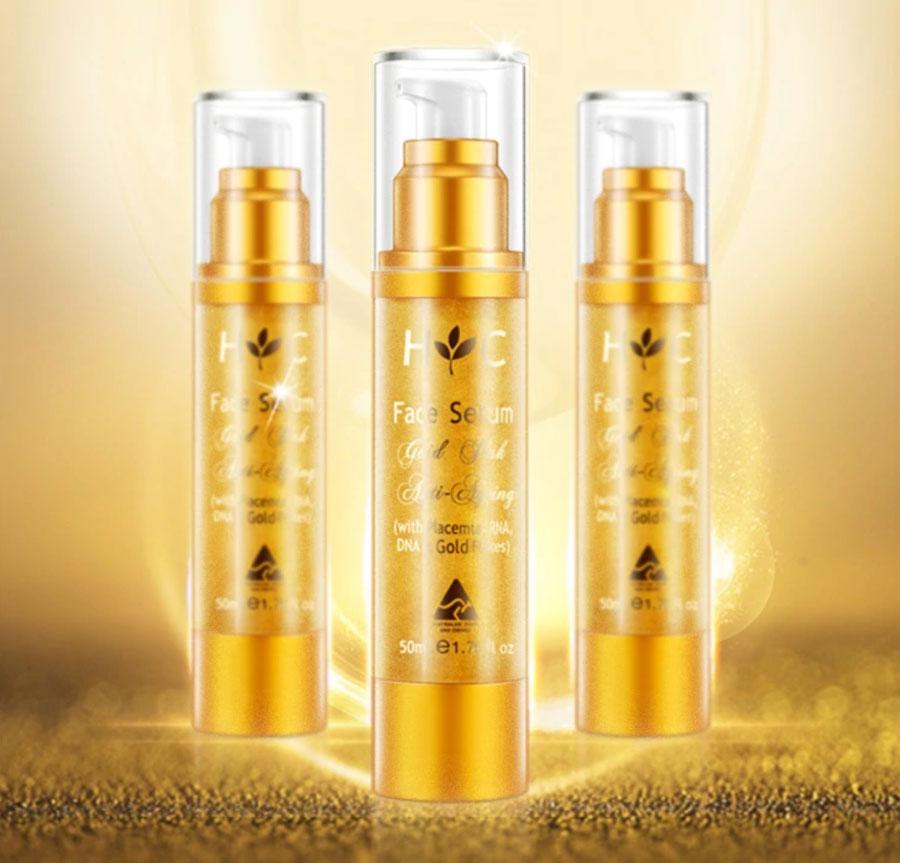 Healthy Care Face Serum Gold Flake Anti Ageing có bán tại các nhà thuốc