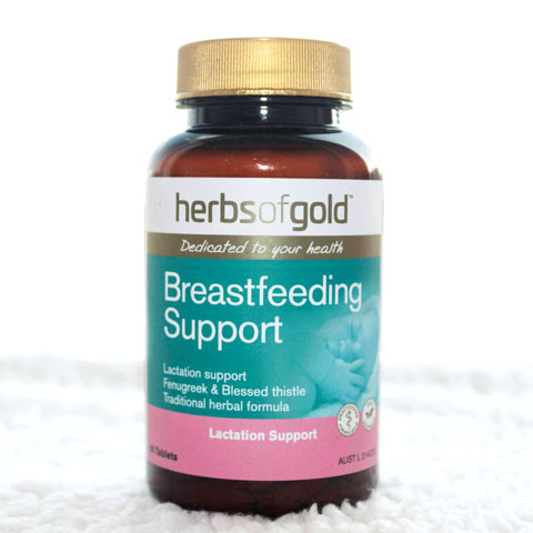Hộp Herbs Of Gold Breastfeeding Support