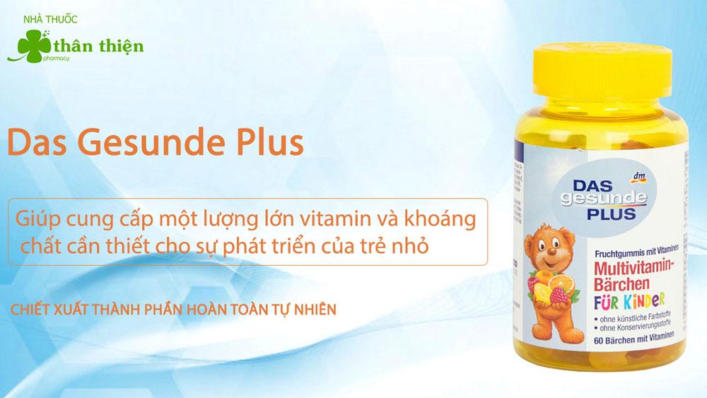 Kẹo gấu Vitamin Das Gesunde Plus Đức có thể có bán tại các nhà thuốc