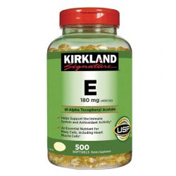 Kirkland Signature Vitamin E 180mg