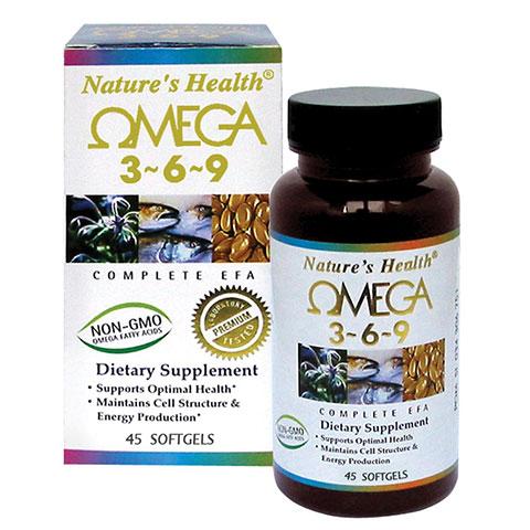 Nature's Health Omega 3-6-9