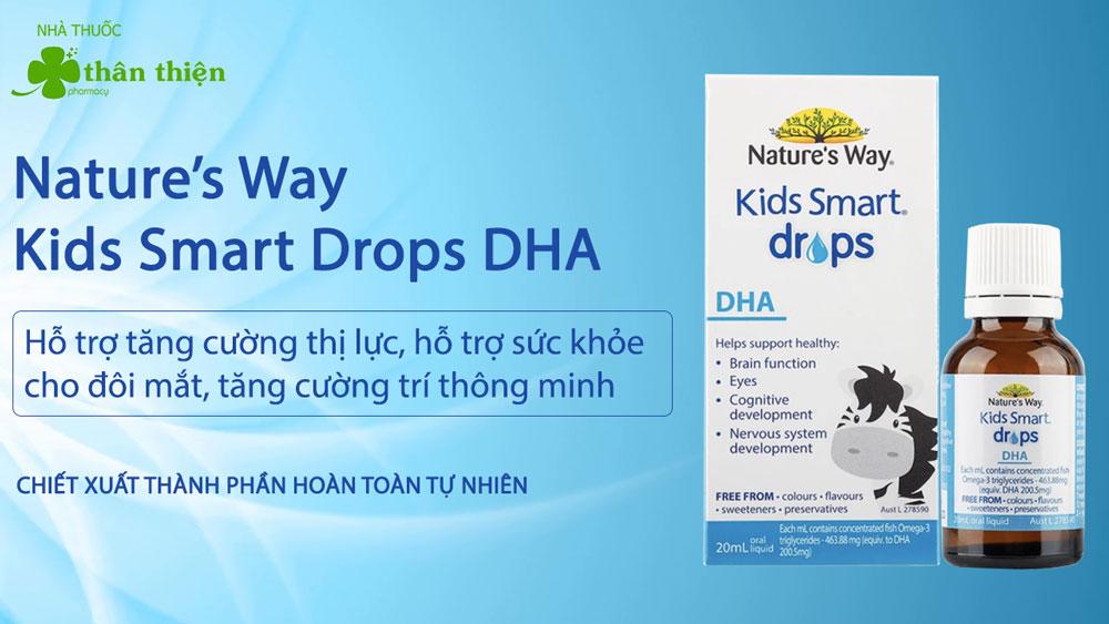 Nature's Way Kids Smart Drops DHA có bán chính hãng tại Nhà Thuốc