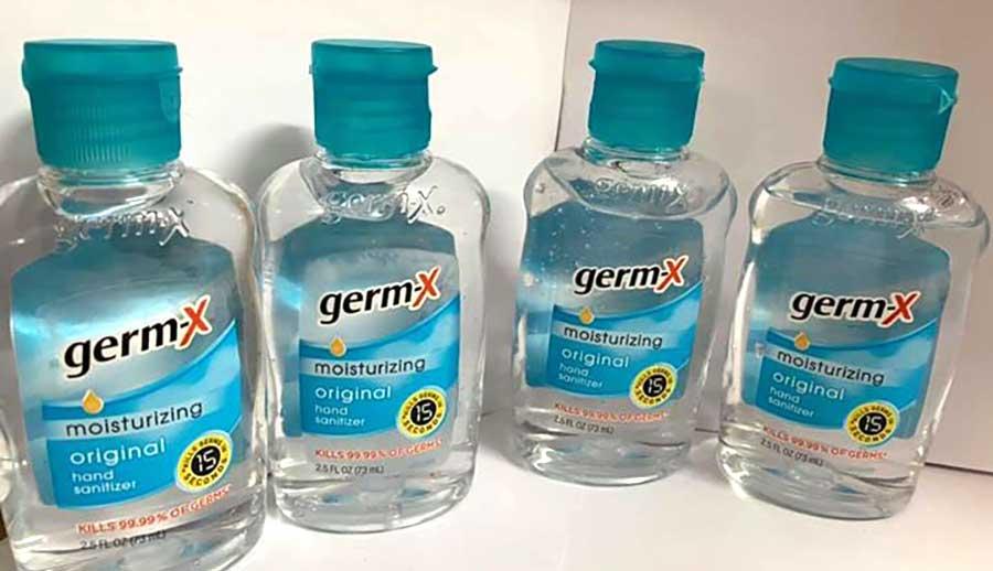 Gel rửa tay khô Germ-X aloe của Mỹ