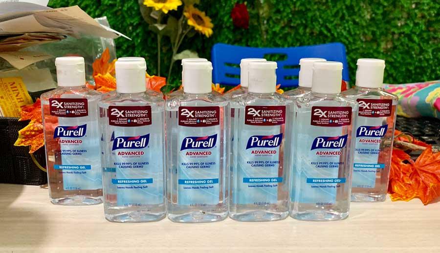 Gel xịt rửa tay khô diệt khuẩn Purell