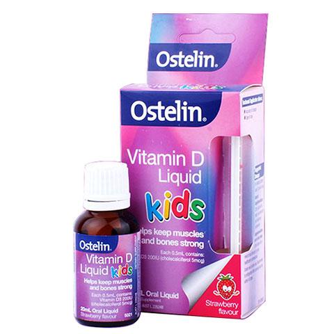 Ostelin Vitamin D liquid Kids
