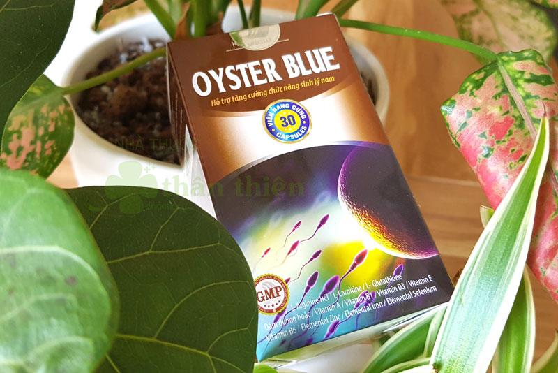 Oyster Blue, tăng khả năng vận động, trưởng thành của tinh trùng