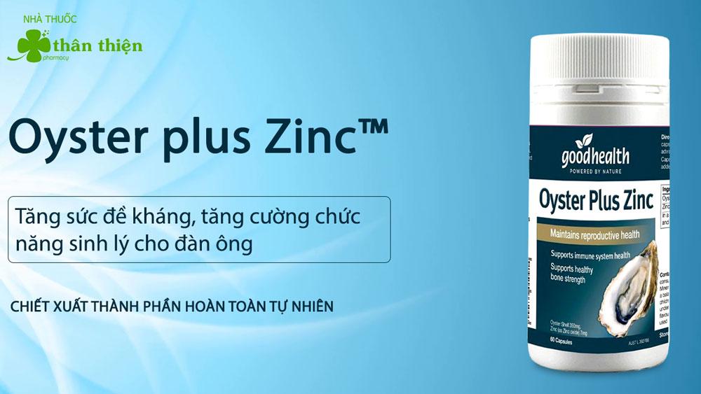 Oyster plus Zinc có bán chính hãng tại Nhà Thuốc
