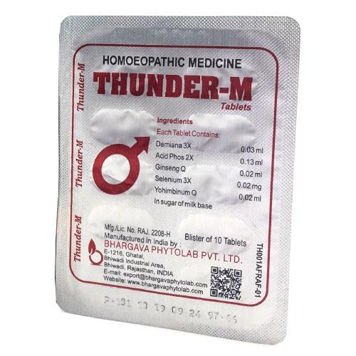 Vỉ thuốc Thunder-M