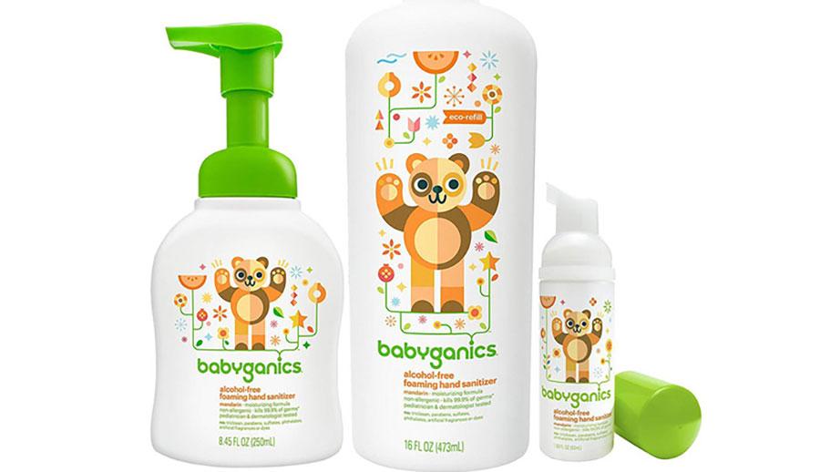 Nước rửa tay khô BabyGanics cho trẻ sơ sinh
