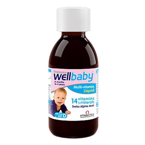 Lọ Wellbaby Multi-Vitamin Liquid