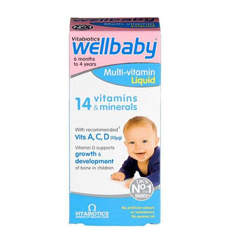 Mặt trước Wellbaby Multi-Vitamin Liquid