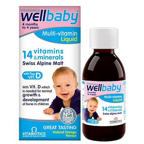 Wellbaby Multi-Vitamin Liquid