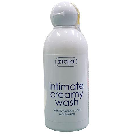 intimate creamy wash