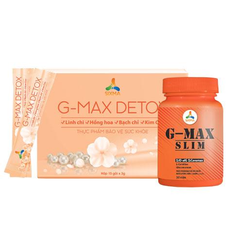 Combo G-Max Slim và Detox