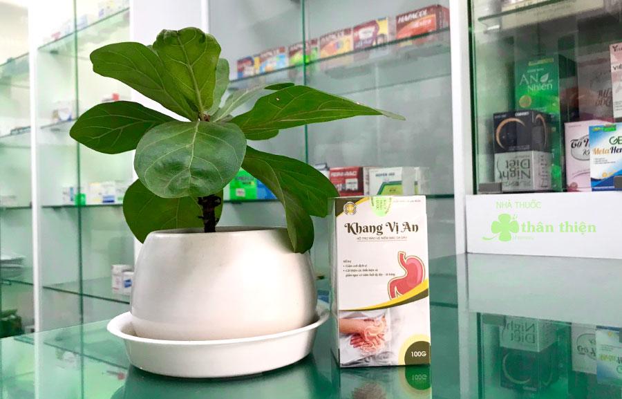 Khang Vị An, hỗ trợ làm giảm axit dịch vị, giúp bảo vệ niêm mạc dạ dày