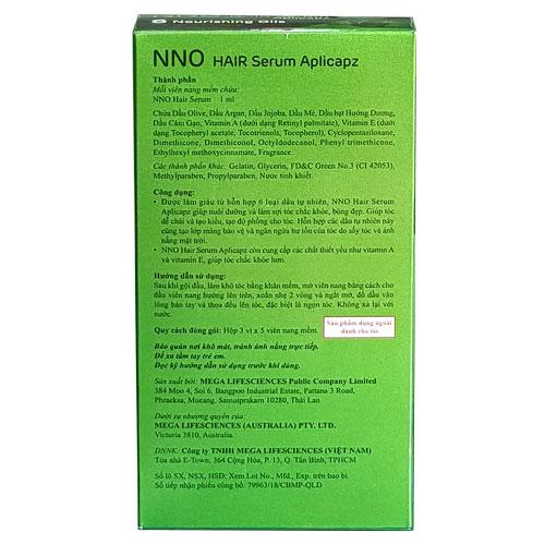Công dụng NNO Hair Serum