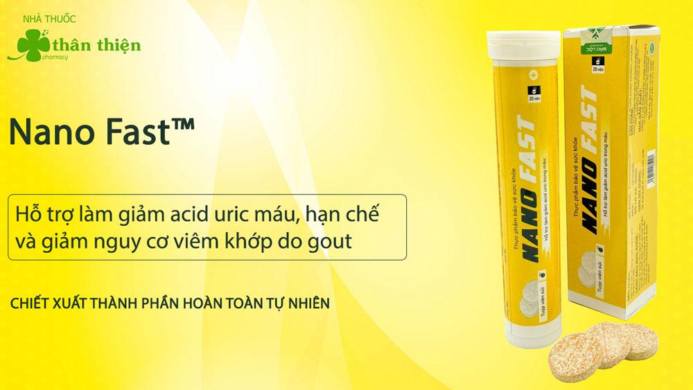 Sản phẩm Nano Fast có thể được bán tại nhà thuốc trên toàn quốc