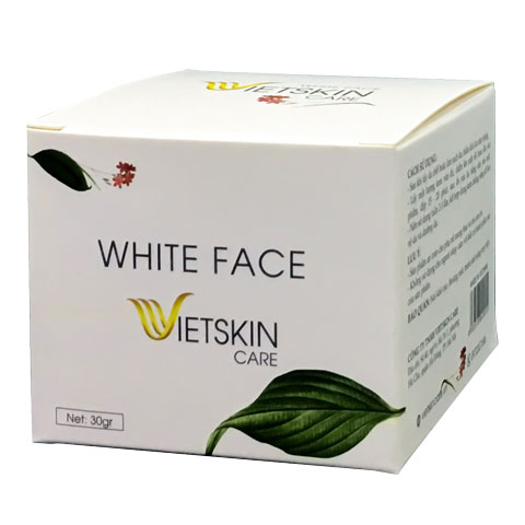 Vỏ hộp White Face Vietskin Care
