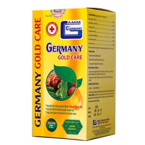 Vỏ hộp Germany Gold Care