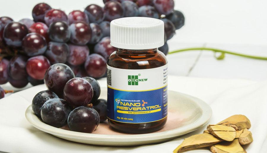 Nano Resveratrol OIC: Hỗ trợ giảm Cholesterol máu, giúp giảm huyết áp. Hỗ trợ tăng cường khả năng chống oxy hóa, giúp nâng cao sức đề kháng.