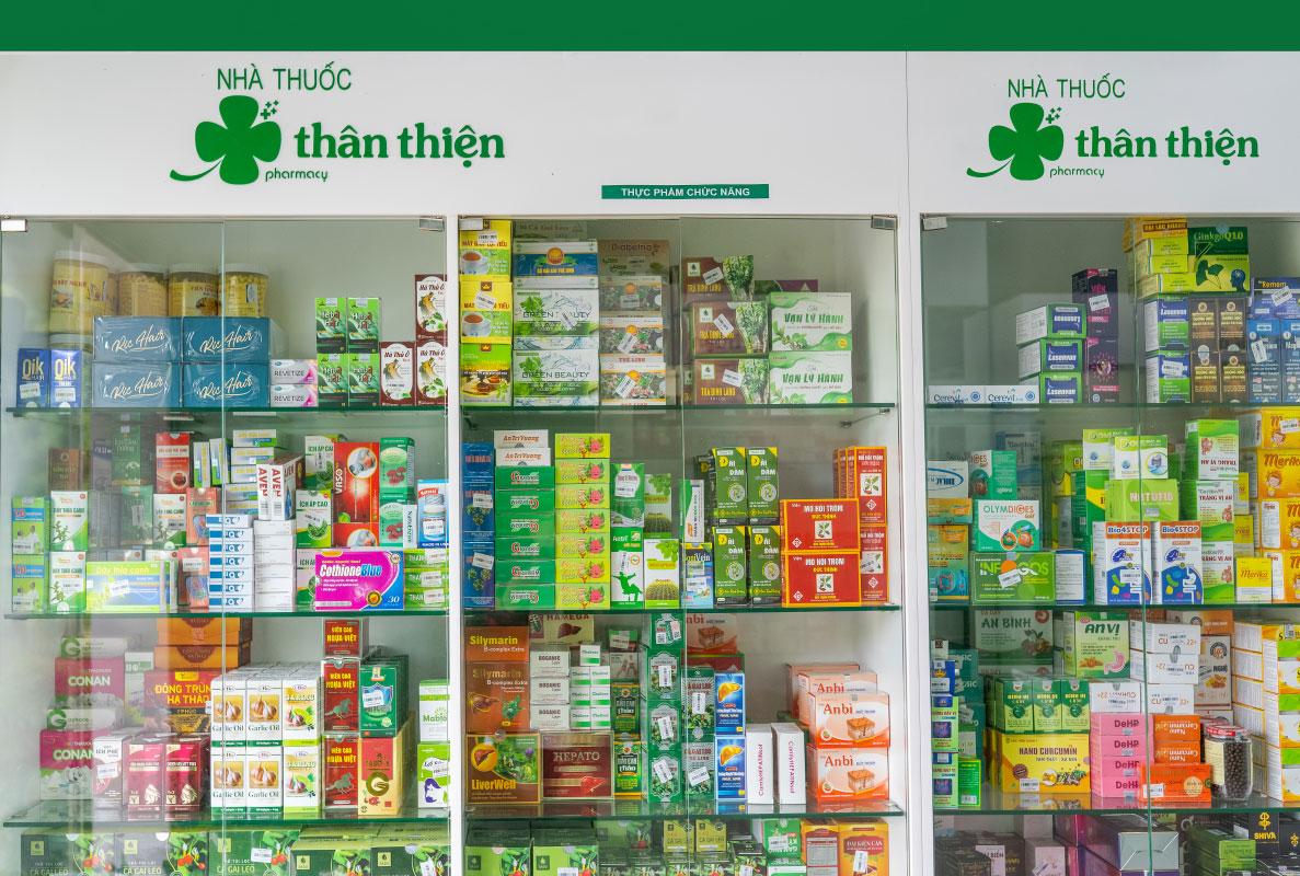 Thuốc và Tpcn tại Nhà Thuốc Thân Thiện