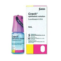 Thuốc nhỏ mắt Cravit