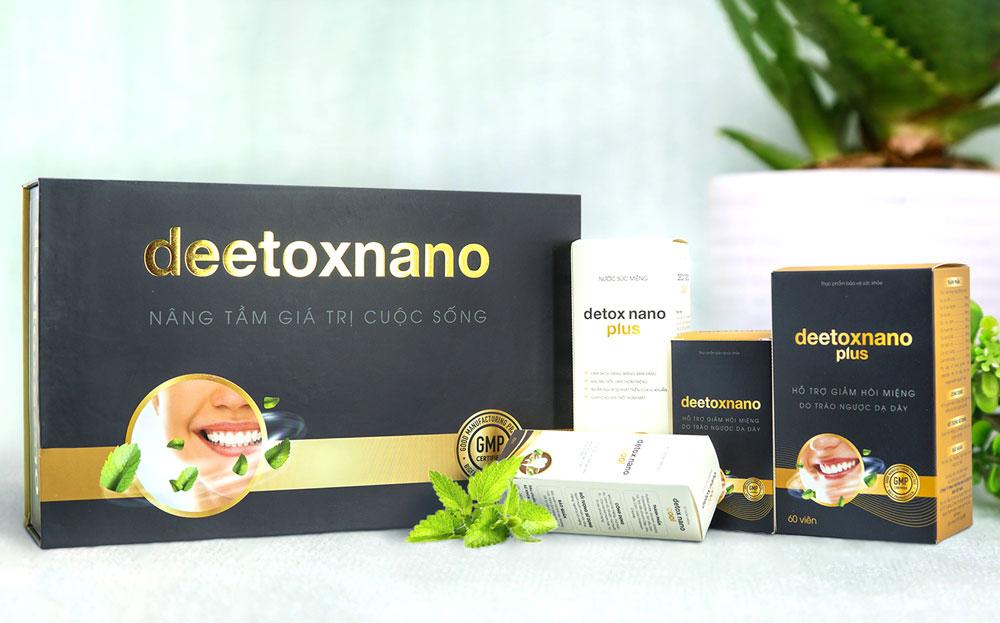 DeetoxNano, hỗ trợ cải thiện triệu chứng ợ chua do trào ngược dạ dày