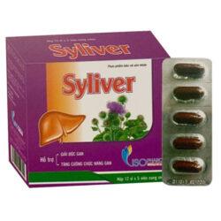 Syliver Isopharco, hỗ trợ thanh nhiệt, giải độc, mát gan