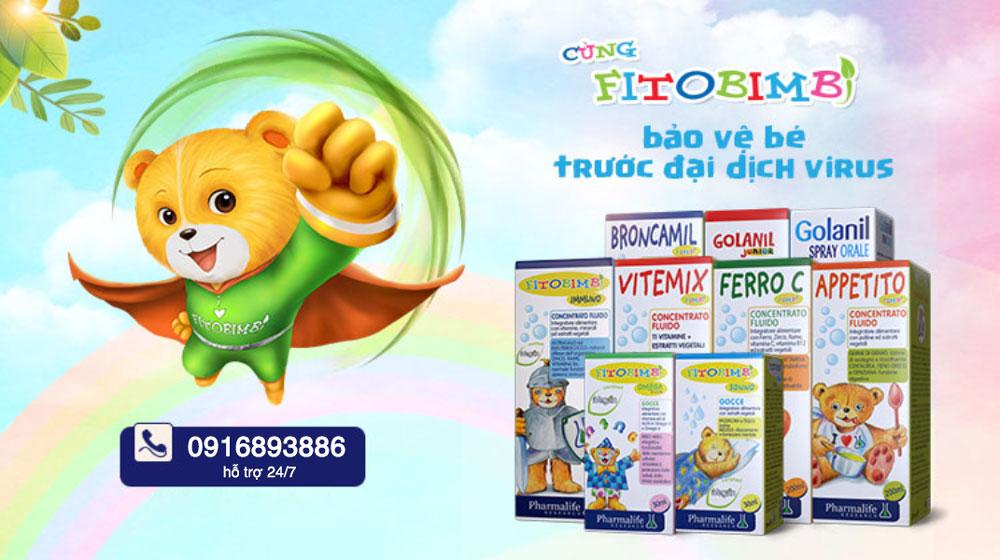 Fitobimbi Vitemix, bổ sung các vitamin và calci cho cơ thể